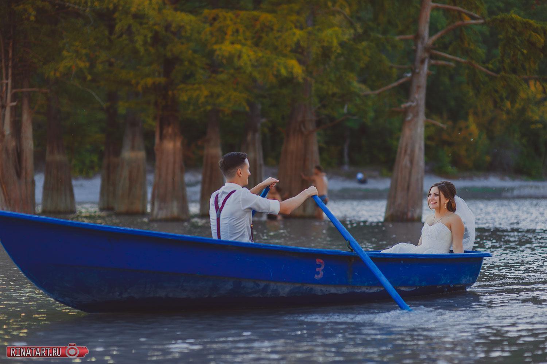 Фотосъемка жениха и невесты в красивых местах