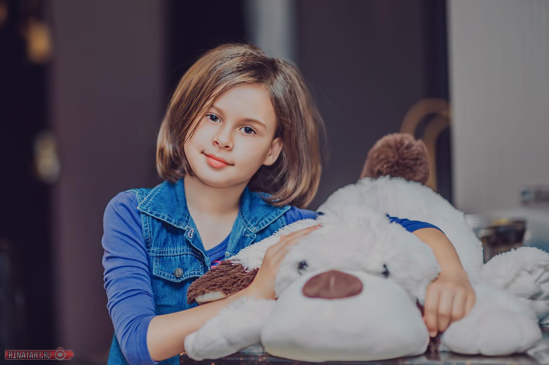 фото ребенка от рината