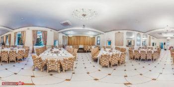 Интерьерная фотосъемка обеденного зала