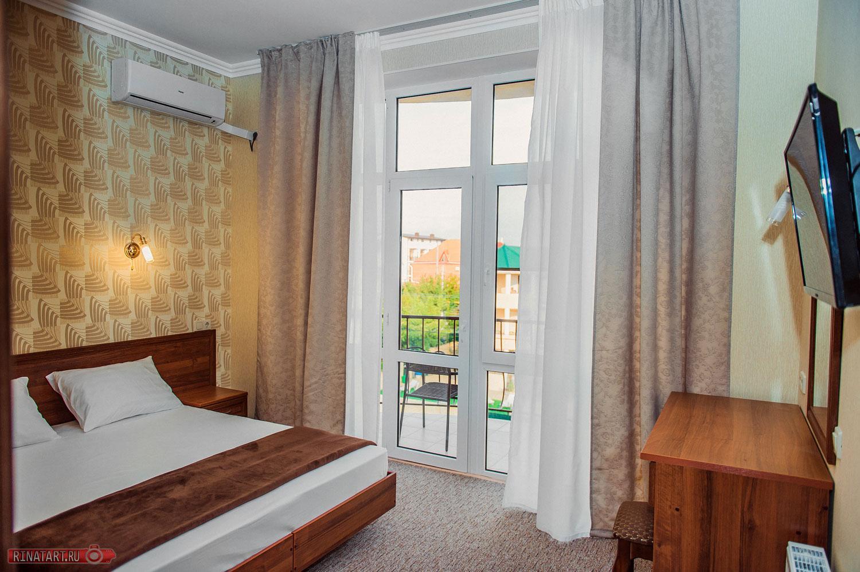Интерьер отеля в Витязево