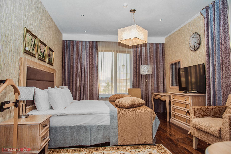 Расстановка мебели в отеле
