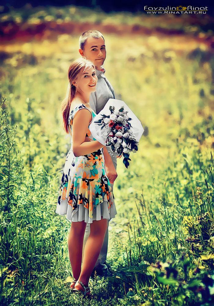 LoveStory в поле