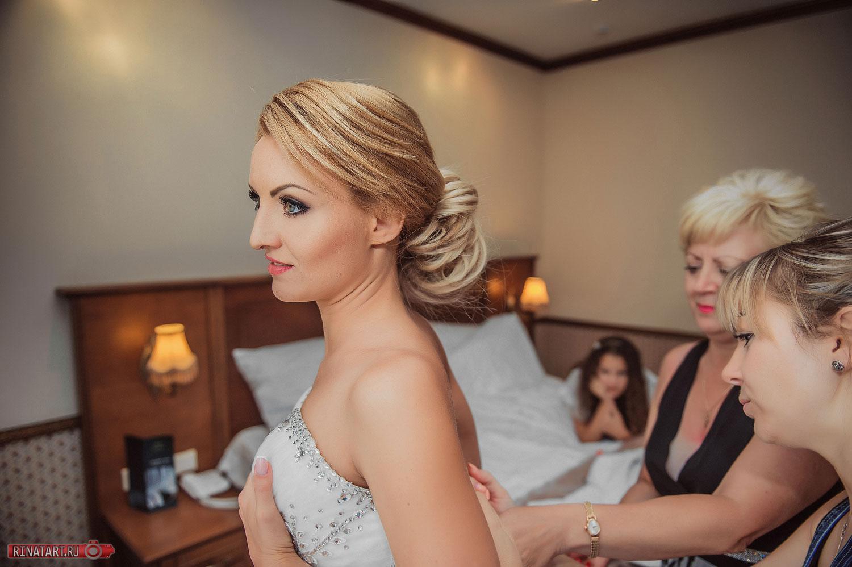 фото подготовка невесты