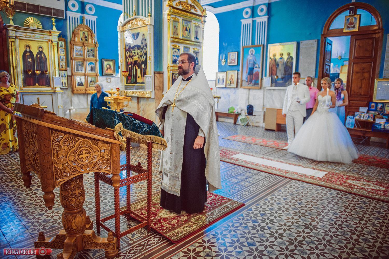 свадебное венчание от рината