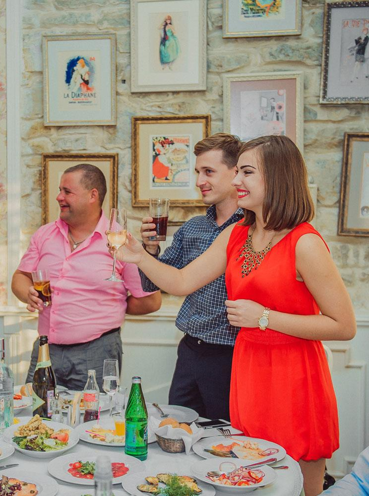 гости со свадьбы