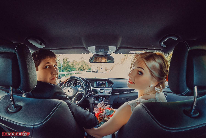 фото сессия в авто