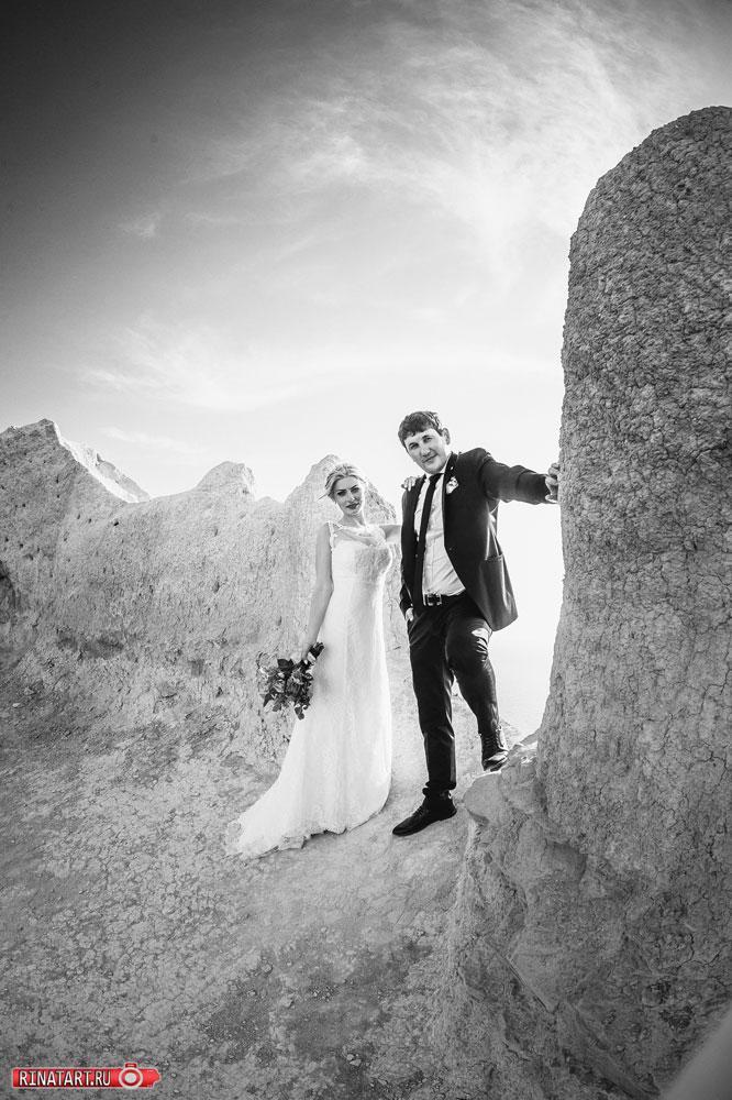 свадебное портфолио на горе