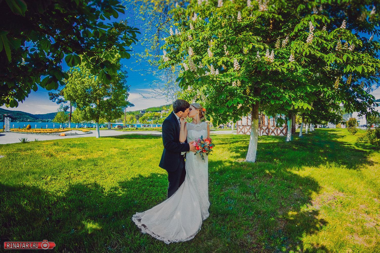 весеняя свадьба от рината