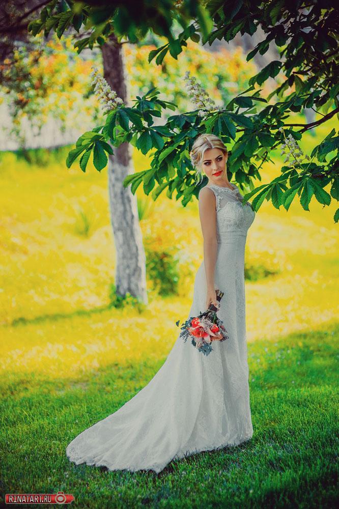 как правильно фотографировать невесту