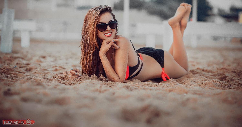 Фотосъемка летом на пляже