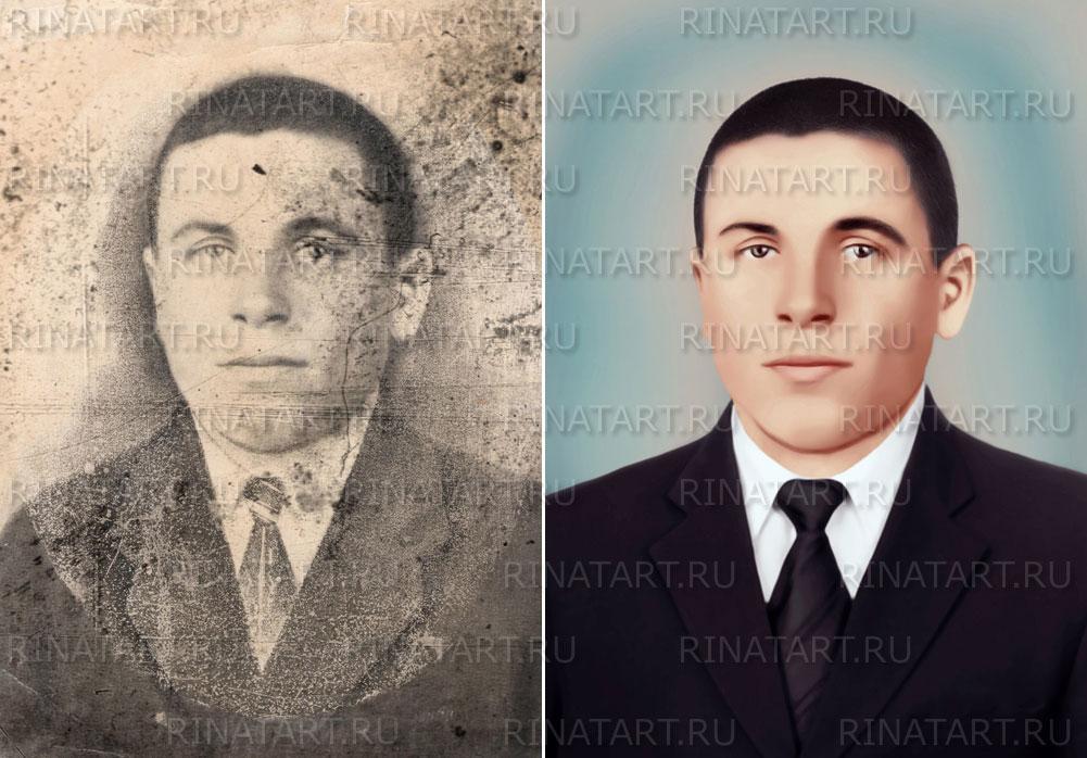 реставрация старинных фото
