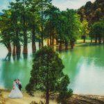 Свадебная съемка прогулки