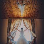 фото сессия невесты дома