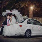 свадебная фото сессия в машине