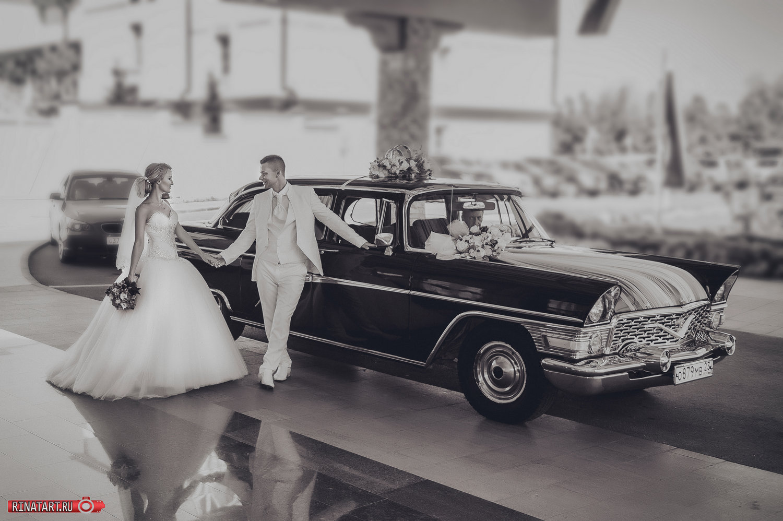фото с ретро авто