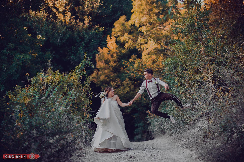фото сессия жениха и невесты парке