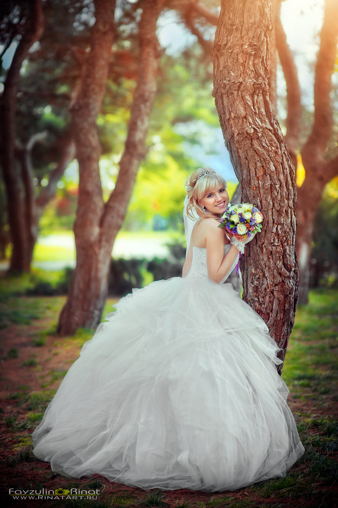 фото невесты от рината файзулина