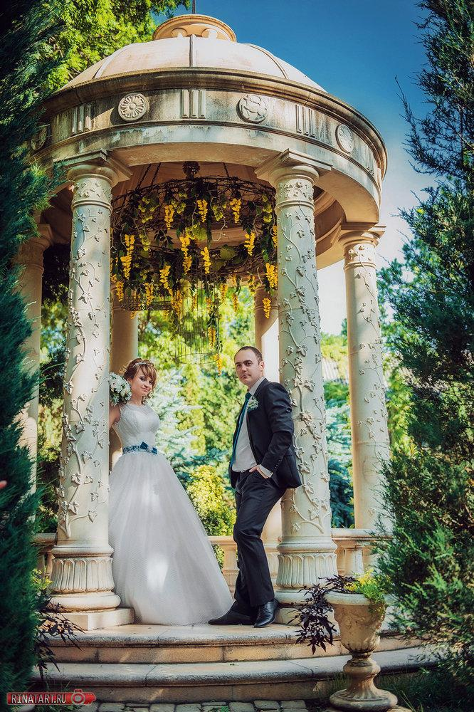 Выбор мест прогулки для свадебной съемки