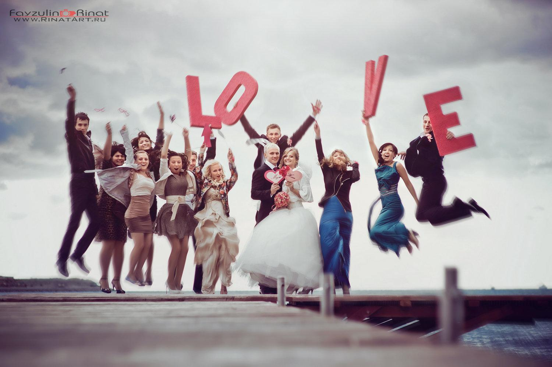 Как развлечь гостей на свадебной фотосессии