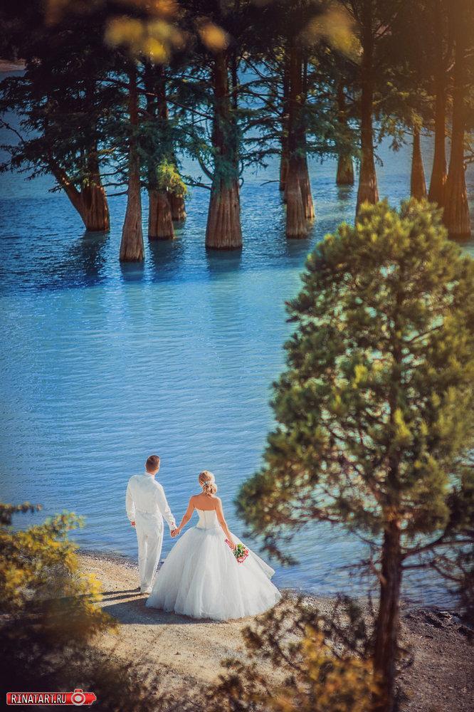 Выбор места для свадебной съемки