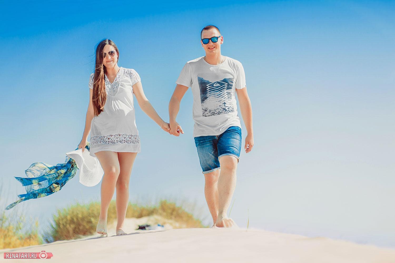 летняя фотосессия пары