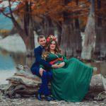 Осення фотосессия на озере кипарисов