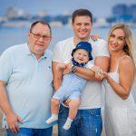 Семейная фотосъемка в Анапе на море