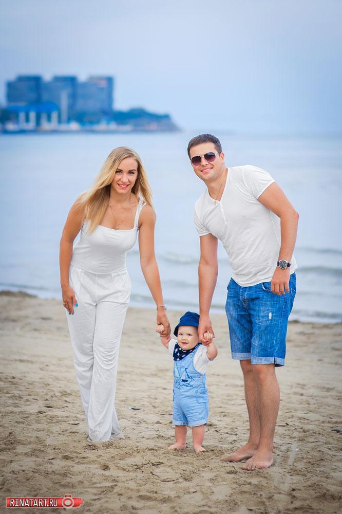Лучшие идеи фотосеъмки семьи на море в Анапе
