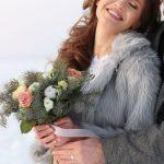 Свадебная фотосессия зимой в Анапе