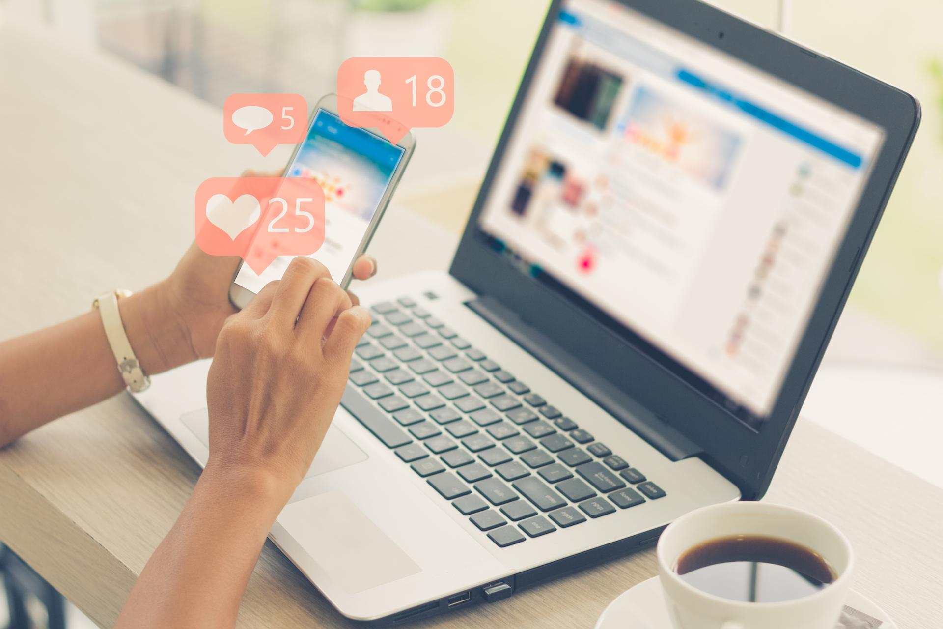 Упаковка социальных сетей