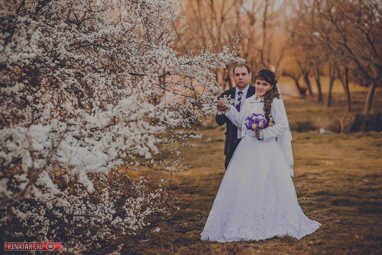 Весення свадебная фотосессия