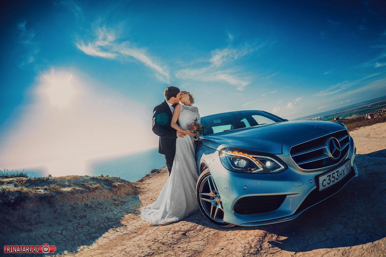 Фотосессия невесты и жениха в самом красивом месте Анапы