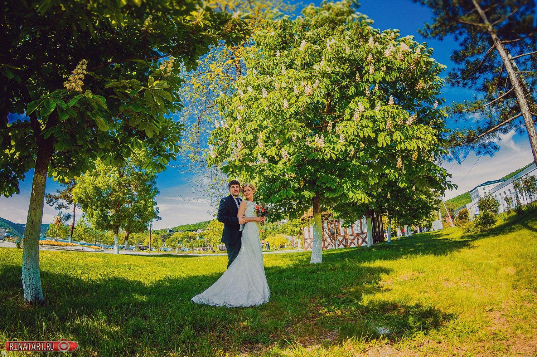 Фотосъемка свадьбы весной
