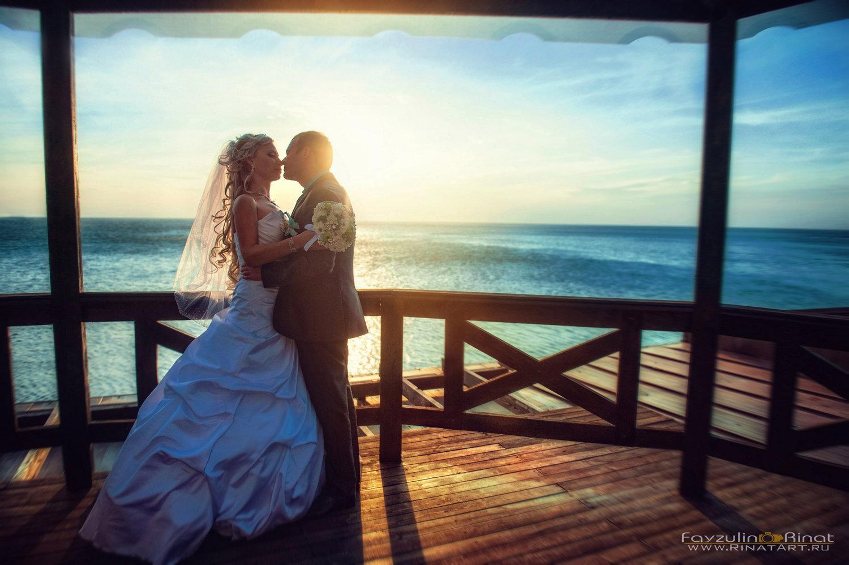 Съемка свадбы в красивых местах