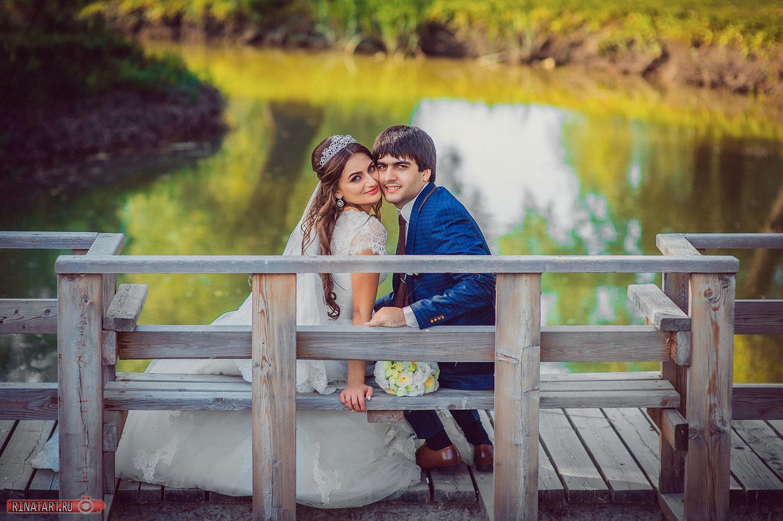 Съемка армянской свадьбы на прогулке