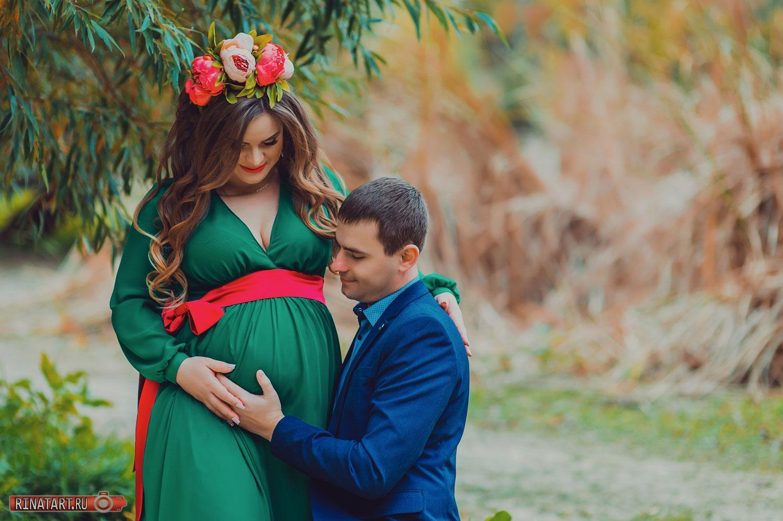 Идеи для фото беременной на природе