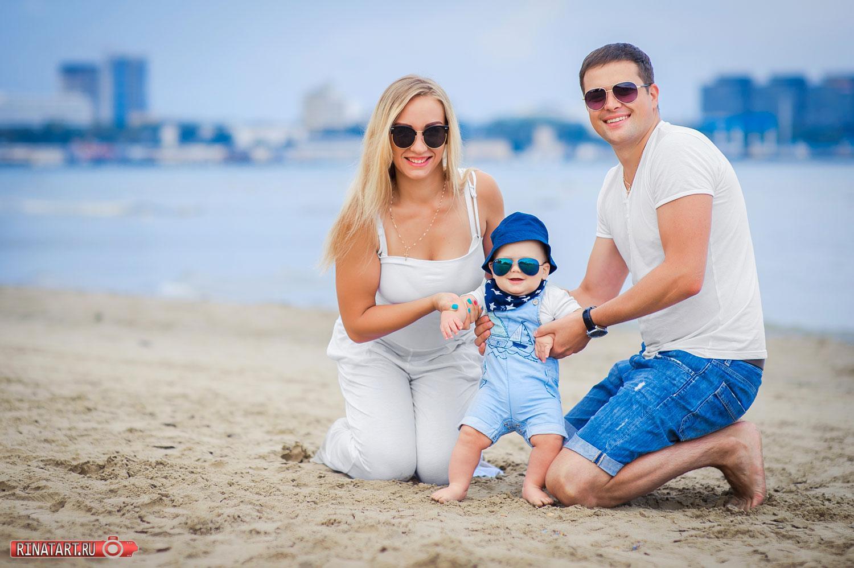 Заказать семейную фотосъемку на море в Анапе
